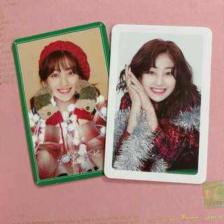 TWICE MERRY & HAPPY ALBUM JIHYO PHOTOCARDS