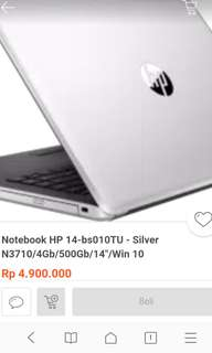 Laptop HP Bs010tu
