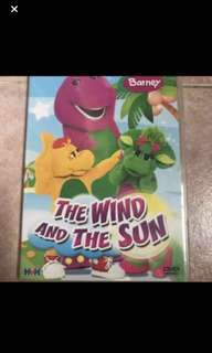 Preloved Original Barney The Wind And The Sun DVD