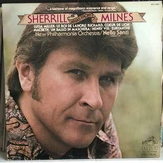 Sherrill Milnes sings Arias RCA ARL1-0851