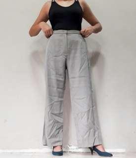 Armani gray highwaist trousers