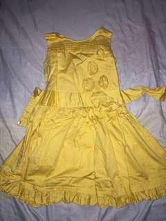 Lovely Mustard Dress