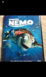 Preloved Original Finding Nemo DVD