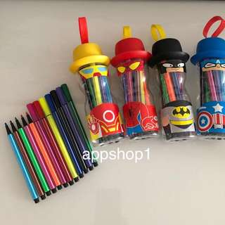 Art and craft coloring pen - children goodies bag, party goody bag gift