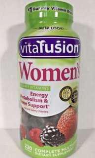 🇺🇸🇺🇸Vitafusion Women's Multivitamin Gummy 220 Gummies
