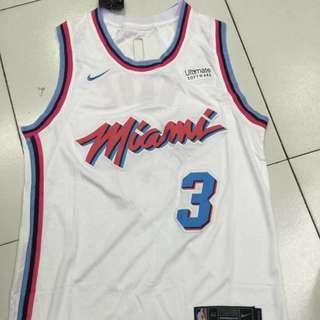 Dwyane Wade Miami Heat NBA Jersey