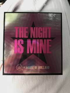 (MASIH SEGEL) (REPRICE) The night is mine palette by The Body Shop lips eye shadow highlighter