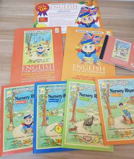Nursery Rhyme 4 books  + Workbook + CD