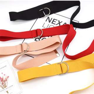 korean D-ring belt