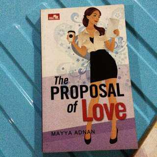 The proposal of love