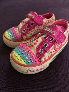 Skechers twinkle toes for 2y