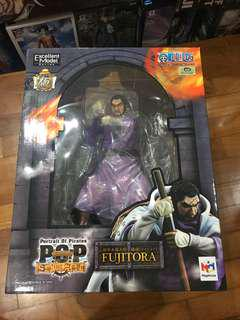 One Piece Megahouse P.O.P Portrait of Pirates Admiral Issho Fujitora Purple Wysteria Tiger