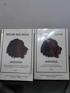 Bedan Red Book 2017