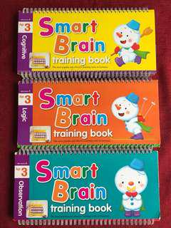 Smart Brain Training Book (Little Genius Series)