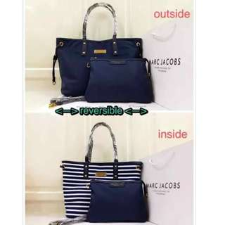 Marc Jacobs Reversible Bag with sling bag