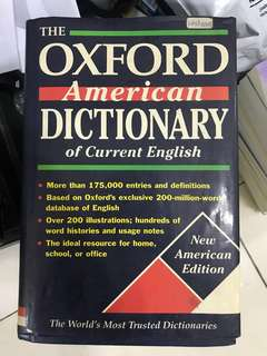 Oxford English Dictionary - New American Edition