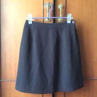 🚚 百貨專櫃G2000 咖啡色短裙 OL上班裙 面試裙 百搭裙 膝上裙 窄裙