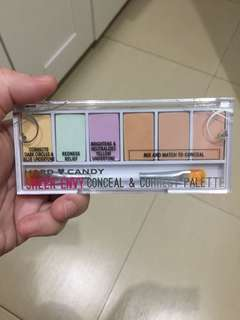 Hard Candy correct and conceal palette
