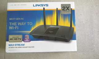 [BN] Linksys touger maxstream max-stream ac1900+ mu-mimo gigabit router