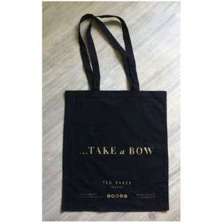 (半價) TED BAKER Canvas Tote Yoga Gym Shopping Bag 實用袋 購物袋 (Half Price)
