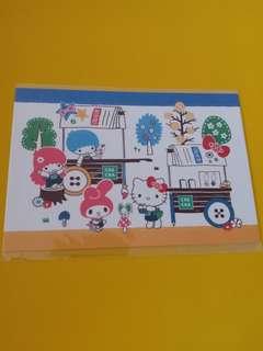 限量版Sanrio Characters Postcard x 1