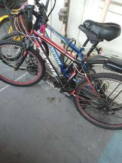 Harris black bicycle