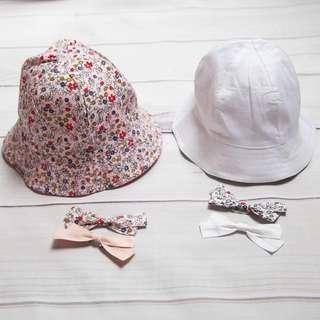 🚚 Instock - Reversible Floral Hat