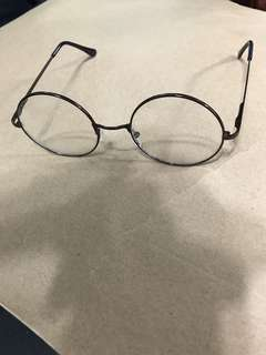 文青眼鏡 eye round glasses
