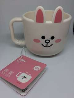 Mug Plastik Cony & Brown
