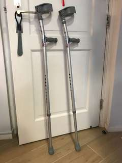 HUWP6412 3 孔穿手拐杖 LY - 604L 型 Elbow Crutches