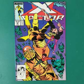 X-Factor No.22 comic