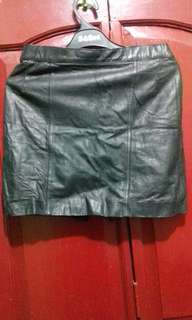 REPRICE!!!Leather Skirt