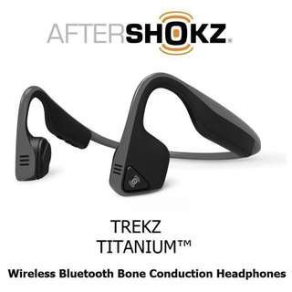 Aftershokz Trekz Titanium (BNIB & Sealed)