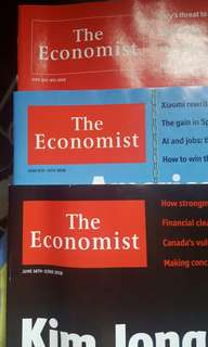Magazine - The Economist (June 2nd-8th, June 9th-15th, 16th-22nd)