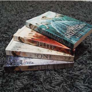 The Selection Series: BOOKS 1-4