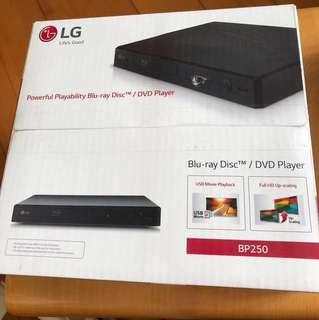 LG Blueray/ DVD player