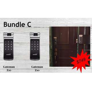 Special Bundle Digital Door Lock Gateman Z10 for Door and Gate