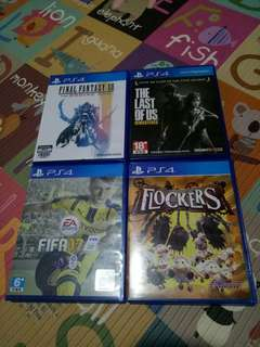 PS4 Preloved Games