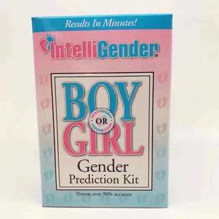 IntelliGender Gender prediction kit
