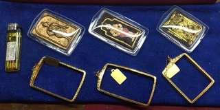 Gold Casing For Amulet