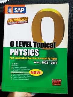 o level topical physics