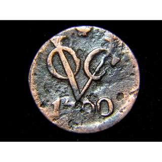1790年荷屬東印度公司(VOC)司徽老銅幣