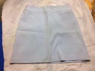 Topshop silk skirt for office attire Small