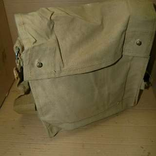 1943 Mark 7 WW2 Indiana Jones British Army Bag Rare levis nike adidas bsa vespa duit