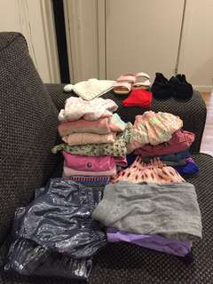 Bundle of Girls size 12months- 2 years