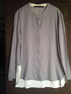 Giordano Ladies Long Sleeve Blouse