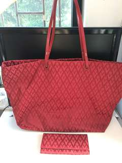 Valentino Garavani V-Fabric Riedition from S.S '68 Collections Tote Bag.