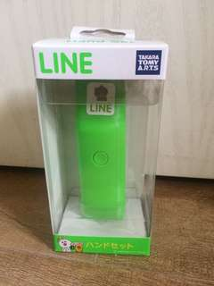 Line friends brown hand set 電話