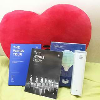 [WTS FAST (NEGO)] WINGS Tour DVD