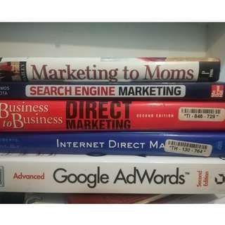 1 Set of Marketing Books (Used - Good Condition)